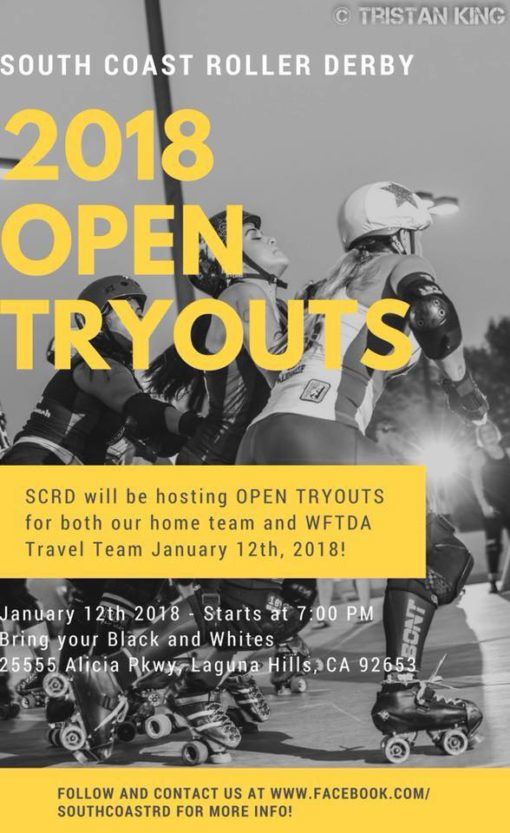 Open Tryouts 2018